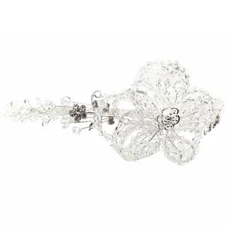 Kate Marie Cwn-ft057ms Silver Rhinestone Crown Tiara Headband