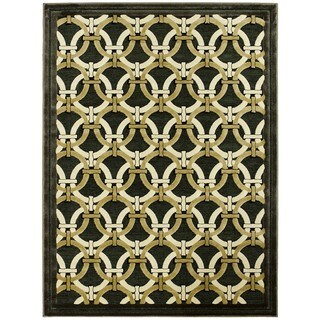 LYKE Home Exotic Chenille Fume Area Rug (8 x 11)