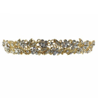 Kate Marie CWN-DH6249 Rhinestone Crown Tiara Headband