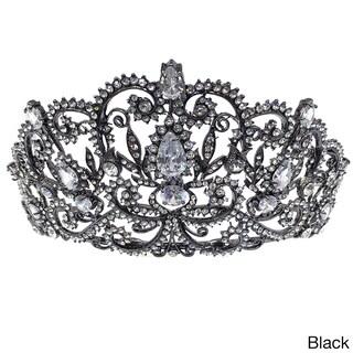Kate Marie CWN-DH5913 Rhinestone Crown Tiara Headband