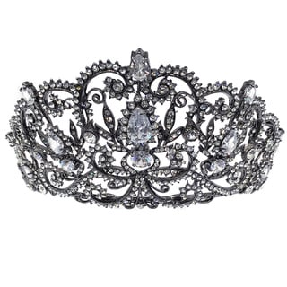 Kate Marie CWN-DH5913 Rhinestone Crown Tiara Headband