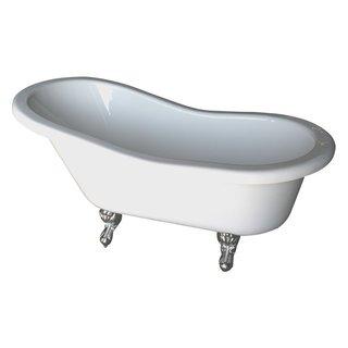 Fillmore Double Acrylic Slipper Tub