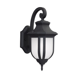 Sea Gull Childress LED Light Black Outdoor Fixture