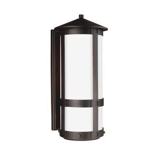 Sea Gull Groveton LED Light Antique Bronze Outdoor Fixture