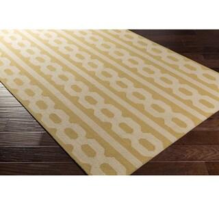 Hand-Hooked Capulin Wool Rug (8' x 10')