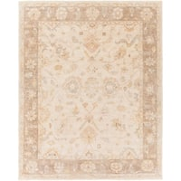 Hand Knotted Belt Wool Area Rug - 8' x 10'