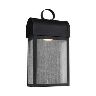 Sea Gull Conroe LED Light Black Outdoor Fixture