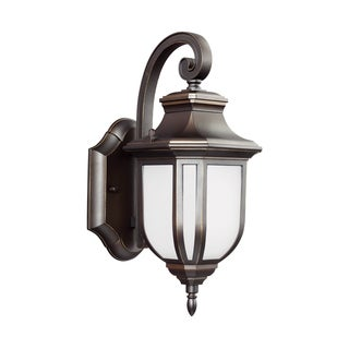 Sea Gull Childress LED Light Antique Bronze Outdoor Fixture