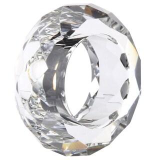 kathy ireland 2-inch Society Chic Napkin Rings (Set of 4)