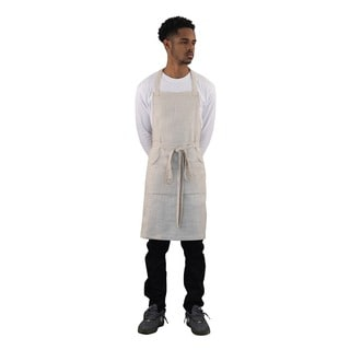 High-End 4 Pocket Linen Butcher Apron