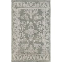 Hand-Knotted Berkshire Indoor Area Rug - 4' x 6'