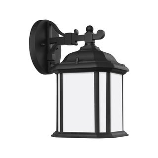 Sea Gull Kent 1 Light Black Outdoor Fixture