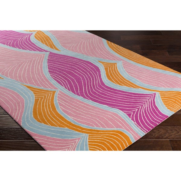 Hand-Tufted Charing Wool Rug (3' x 5')