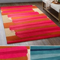 Hand-Tufted Cottle Wool Area Rug - 2' x 3'