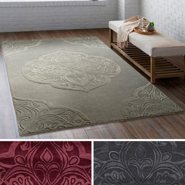 Shop Hand-Tufted Congress Wool/ Viscose Area Rug