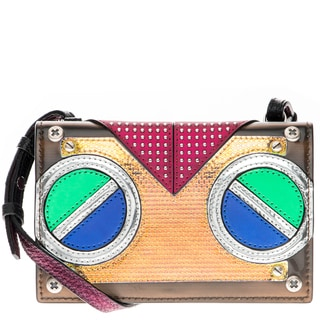 MCM 'Roboter' Mixed-Media Crossbody Bag