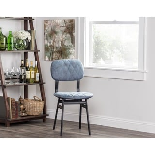 Kosas Home June Blue Side Chair