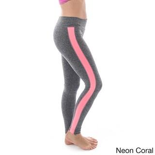 Soho Sport Women's Stripe Sport Leggings