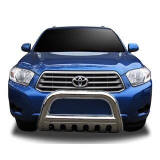 2008-2012 Toyota Highlander Stainless Steel Bullbar