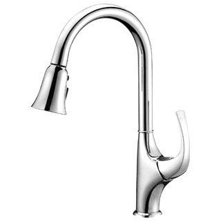 Dawn Single-lever Pull-out Spray Chrome Finished Kitchen Faucet
