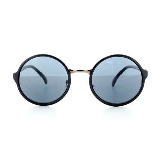 Epic Eyewear Sleek Stylish Retro Round Frame Uv400 Sunglasses