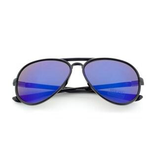 Epic Eyewear Adrenaline Plus+ Sport Aviator Reflective Lens Tri-layer Uv400 Sunglasses
