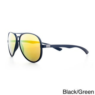 Epic Eyewear Adrenaline Plus+ Sport Aviator Reflective Lens Tri-layer Uv400 Sunglasses