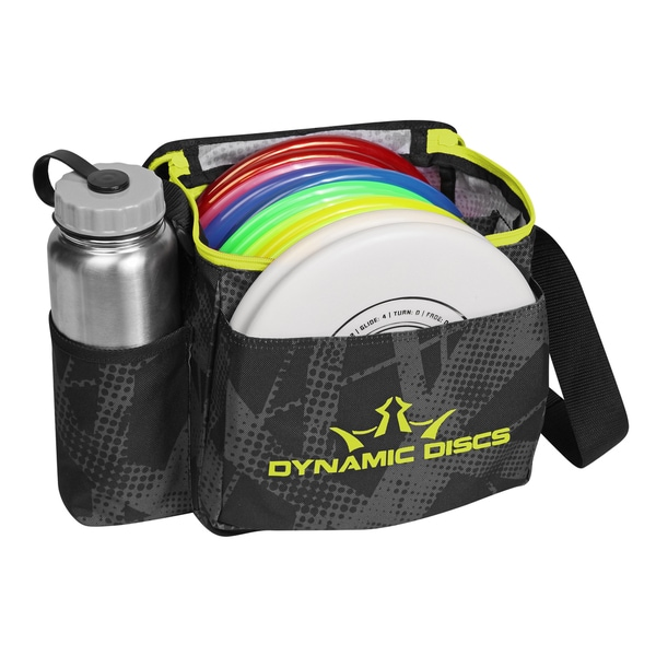 Dynamic Discs Fracture Chartreuse Cadet Disc Golf Bag