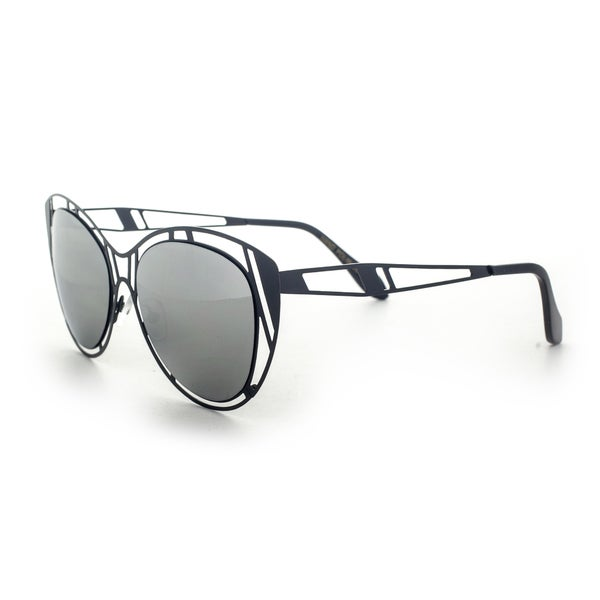 Epic Eyewear Futuristic Fashion Halo Flat Frame Aviator Uv400 Sunglasses
