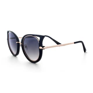 Epic Eyewear Sophisticated Stylish Retro Uv400 Round Frame Sunglasses