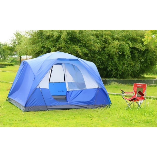 Semoo Waterproof 5-Person Family Camping/ Travelling Tent with Compression Bag