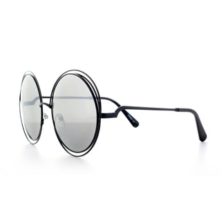 Epic Eyewear Sophisticated Double Round Frame Uv400 Fashion Sunglasses