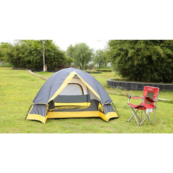 Semoo D-Style Door 2-Person Camping/ Traveling Lightweight Dome Tent with Compression Bag
