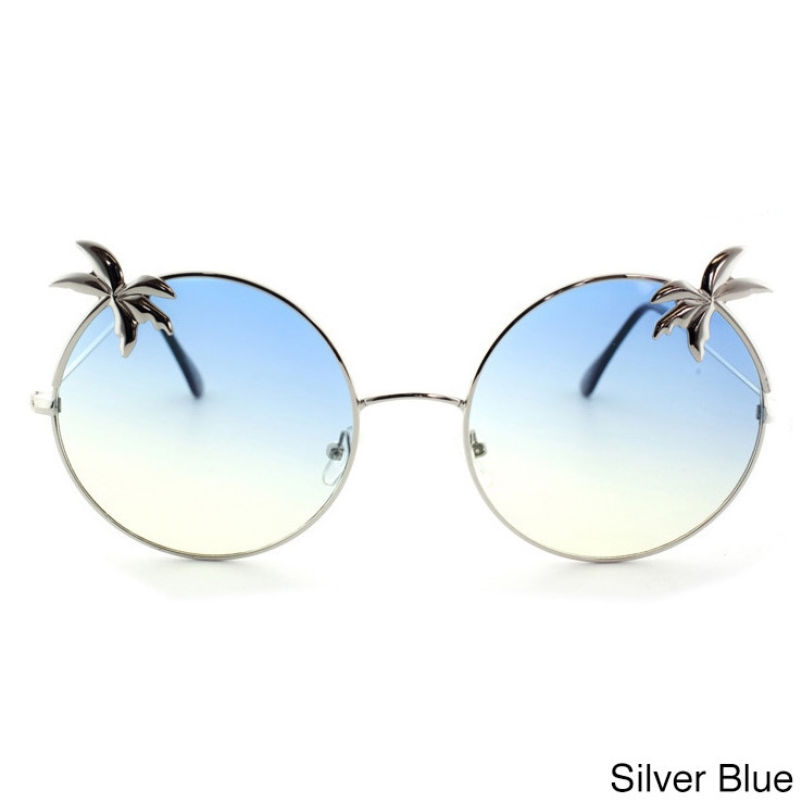 fd43256d50b Epic Eyewear Tropical Love Oversized Wired Round Frame Fashion Uv400  Sunglasses