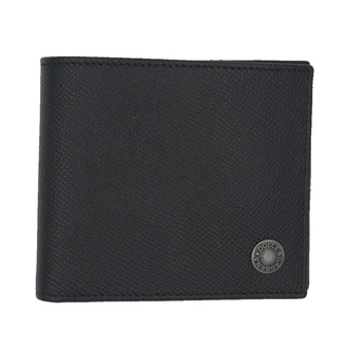 Dolce & Gabbana Black Saffiano Leather Bifold Logo Wallet