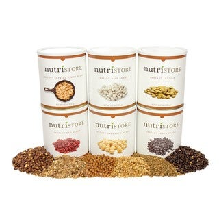 Nutristore Instant Bean Variety 6-pack