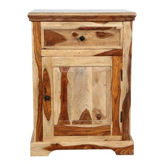 Porter Taos Sustainable Solid Sheesham Nightstand (India)