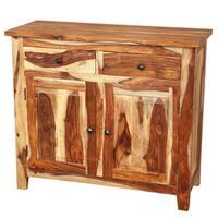Handmade Porter Taos 2-door, 2-drawer Solid Sheesham Wood Sideboard (India)