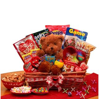 Shop You Rock Kids Valentine S Gift Basket Free Shipping Today