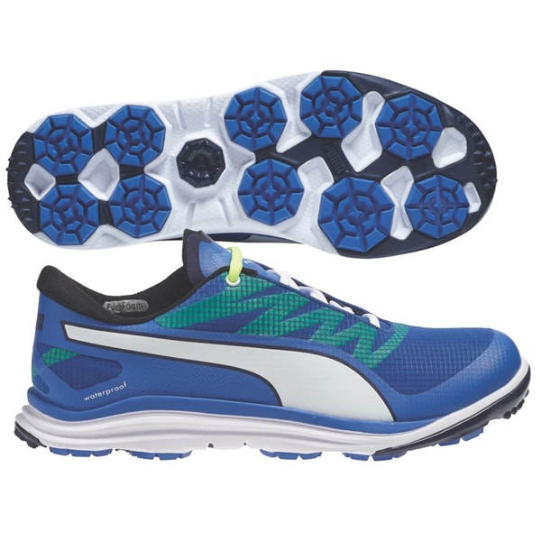 Shop PUMA BioDrive Golf Shoes 18758103 2015 Blue Peacoat Yellow - Free  Shipping Today - Overstock.com - 11130363 625b93e6bc62