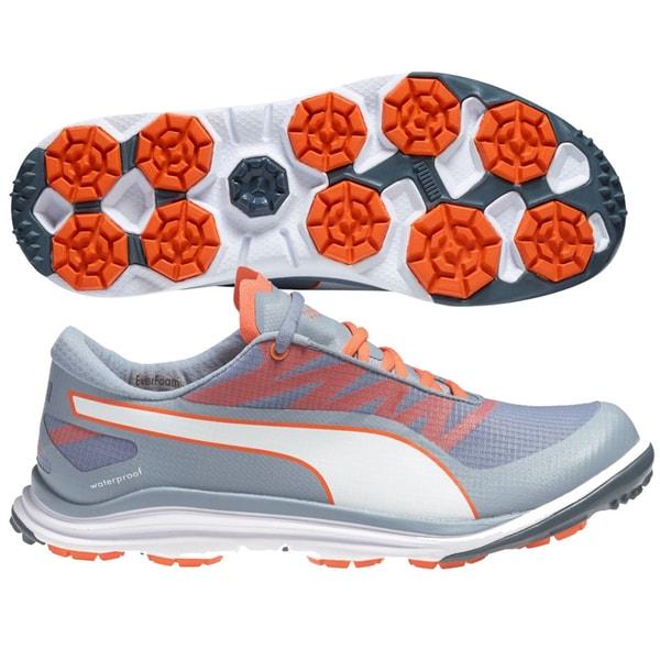 PUMA BioDrive Golf Shoes 18758105 2015 Tradewinds/White/Orange