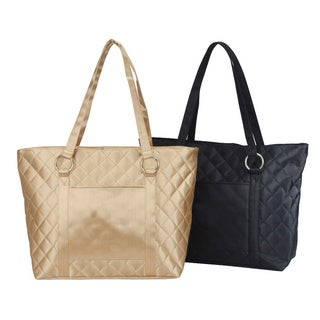 Goodhope Quilted Fashion Travel Tote Bag (2 options available)