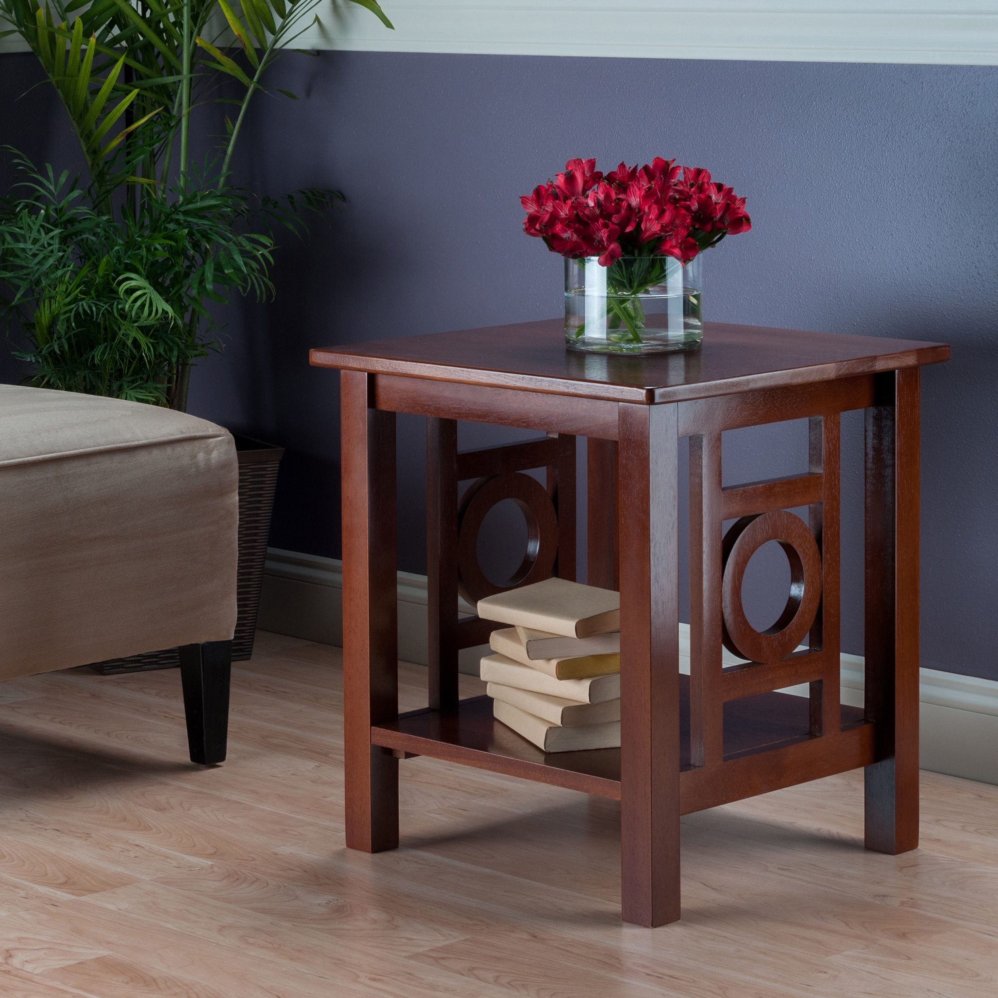 Strange Ollie End Table Walnut Ibusinesslaw Wood Chair Design Ideas Ibusinesslaworg