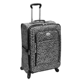 Amelia Earhart Safari Collection 24-inch Expandable Spinner Upright Suitcase