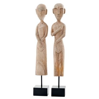 Museo African Museum Figures (Set of 2)