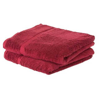 Cheer Collection Soft Absorbent Bath Sheet (Set of 2) - Multiple Color Options Available
