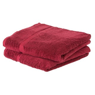 Cheer Collection Soft Absorbent Bath Sheet (Set of 2) - Multiple Color Options Available (More options available)