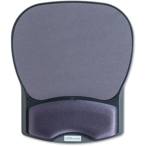 Compucessory Comp Gel Mouse Pad with Wrist Rest - 1/EA