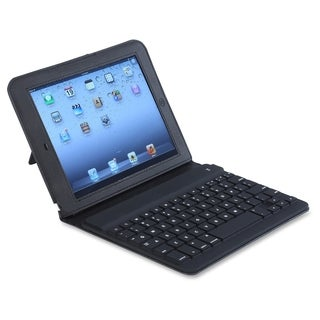 Compucessory Keyboard/Cover Case (Folio) for iPad Air - Black - 1/EA