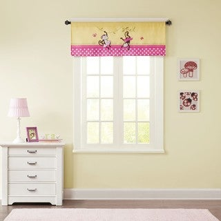 Mi Zone Kids Monkey Madness Printed and Applique Valance